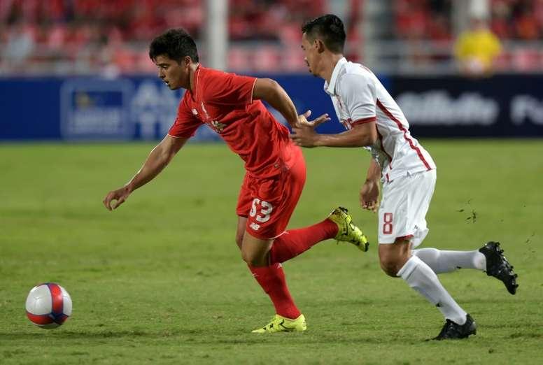 Teixeira aspira a hacer carrera en el equipo portugués. AFP