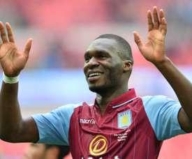 Aston Villa envisage le possible retour de Benteke. AFP