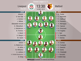 Liverpool v Watford. Premier League 2019/20. Matchday 17, 14/12/2019