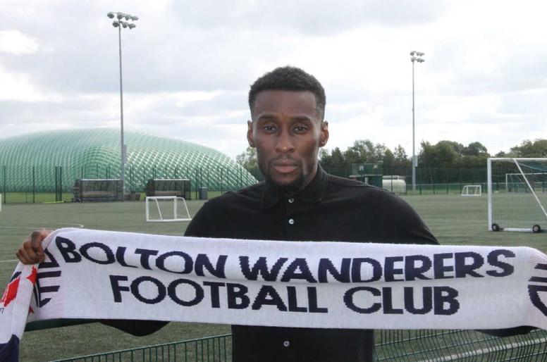 Lloyd Dyer joins Bolton Wanderers. Twitter/OfficialBWFC