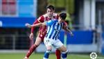Dos expulsiones, dos goles y reparto de puntos en Ipurua