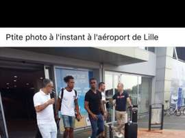 Remy vers Lille. Twitter/LOSC_Actualite