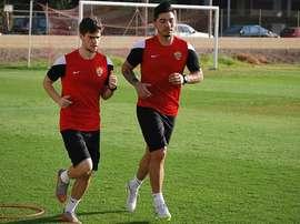 Lolo Reyes se perderá por sanción los dos próximos partidos del Almería. UDAlmeriaSAD