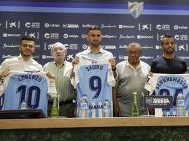 El Málaga aclaró la situación de Benkhemassa y Lorenzo González. MalagaCF