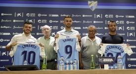 Malaga clarified the situation of Benkhemassa and Lorenzo González. Malagacf