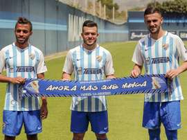 Sadiku, Loenzo y Benkhemassa entran en la lista del Málaga. MalagaCF