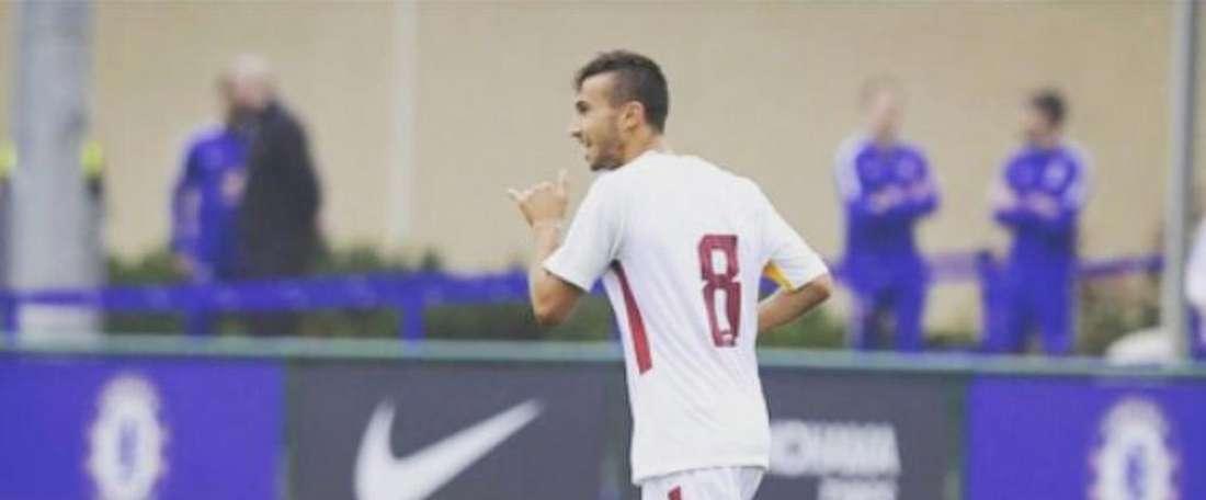 El centrocampista ya ha entrenado con el primer equipo. Instagram/LorenzoValeau
