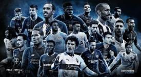 Les meilleurs défenseurs de la saison. FifPRo