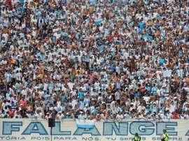 La afición de Londrina ha estallado y lo ha pagado con sus propios jugadores. Twitter/LondrinaEC