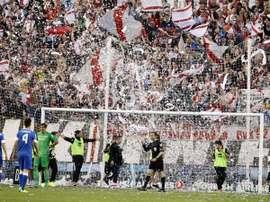 Los Bukaneros denuncian la situación del fútbol base del Rayo Vallecano. Twitter