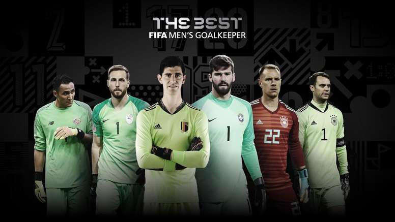 6 keepers nominated for 'The Best'. FIFAcom