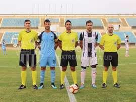Los pacenses ganaron por 2-1 al Extremadura. Twitter/ExtremaduraUD