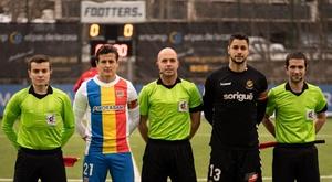 Andorra y Nàstic empataron a cero. Twitter/fcandorra