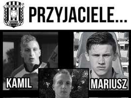 Los cinco fallecidos del fútbol polaco en un accidente de tráfico. WólczankaWolka