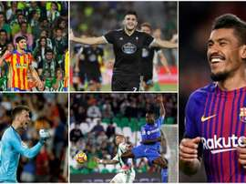 Paulinho, Guedes, Maxi Gómez, Neto et Djené ont brillé en ce début de saison. BeSoccer