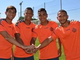 Montenegro, Alvarado, Luis Suárez y Becerra jugarán en el Promesas. RealValladolid