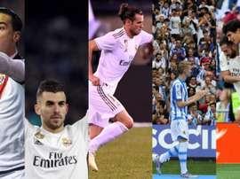 Les écartés de Zidane sont plutôt bien côtés sur FIFA. EFE/BeSoccer