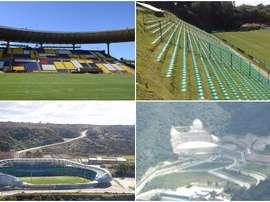 Os dez estádios mais estranhos de América. BeSoccer