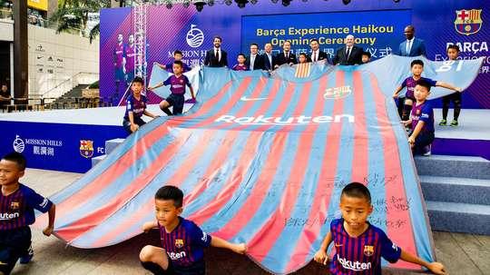 El Barça ha entrado a lo grande en China. FCBarcelona