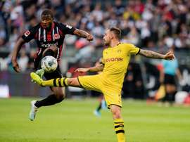 Eintracht punishes a Borussia who were winners too soon. Twitter/BVB