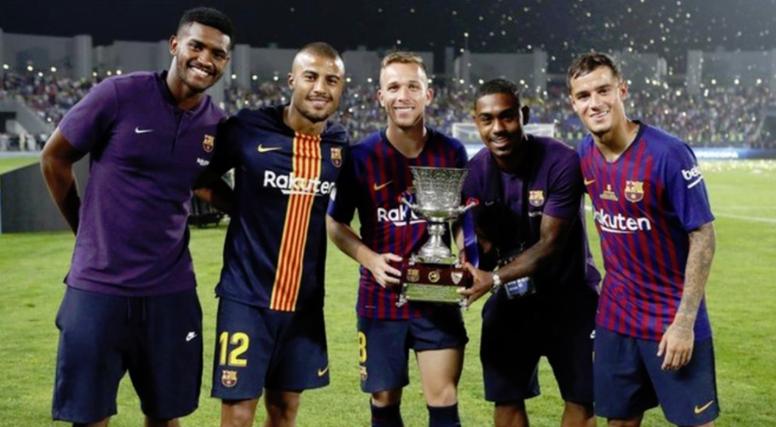 Tostão falou dos dois jogadores brasileiros e deixou conselhos. FCBarcelona