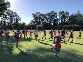 Argentinos Juniors se estrena ante Independiente Chivilcoy. EFE