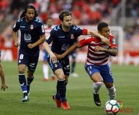 La Cultural anotó dos goles en el añadido y empató al Granada. LaLiga