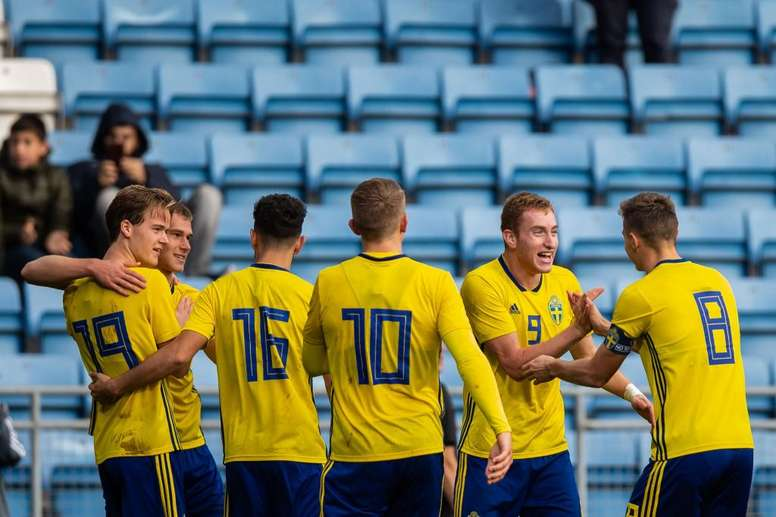 Los amistosos en Suecia quedan suspendidos. Twitter/svenskfotboll