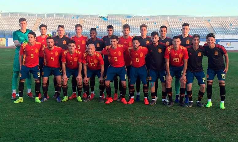 Los Sub 18 vencieron con autoridad a Serbia. SeFutbol