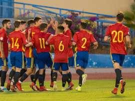 España se adelantó, pero cedió un empate. FIFLP
