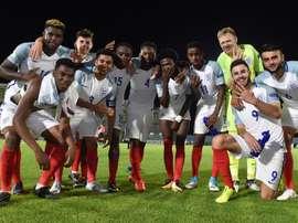 Inglaterra se medirá a la República Checa en semifinales del Europeo Sub 19. Twitter/England