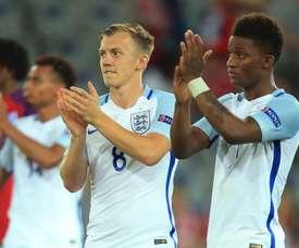 Inglaterra ha culminado su pase a semifinales. Twitter/England