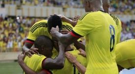 Los colombianos consiguen un empate después de verse por detrás en el marcador. EFE