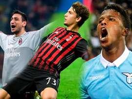 Donarumma, Locatelli y Keita Balde son tres de los Sub 21 del momento en Italia. BeSoccer