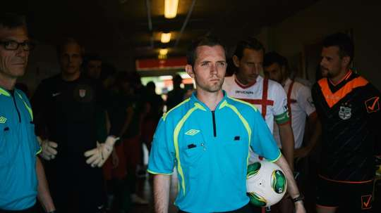 Officials trialled their first green card in the CONIFA fixture on Saturday. CONIFA