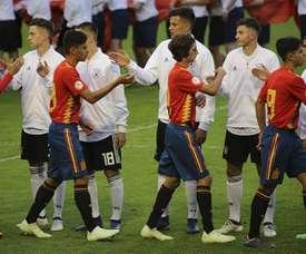 España le ha endosado una 'manita' a Alemania. Twitter/SeFutbol