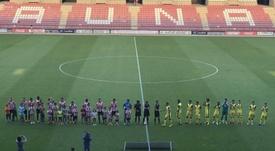 Comillas, SD Logroñés y UD Logroñés tendrán que compartir instalaciones en Copa. Twitter/cdnumancia