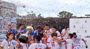 Nacional es el nuevo campeón de la Libertadores Sub 20. CONMEBOL