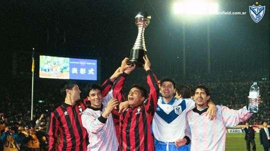 Vélez se proclamó campeón de la Intercontinental en el año 1994. VelezSarsfield