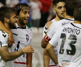 El Albacete defiende el liderato a duras penas. AlbaceteBalompie