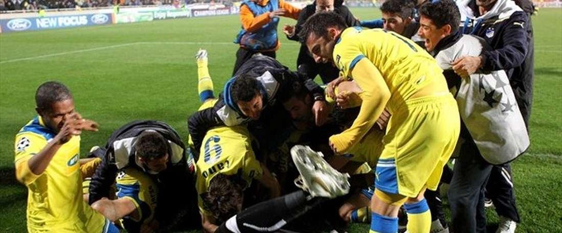 El APOEL ha logrado una clasificación a la que el adjetivo épico se le queda corto. UEFA