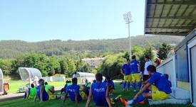 Arouca y Vizela ascienden a la Segunda División Portuguesa. Twitter/Arouca