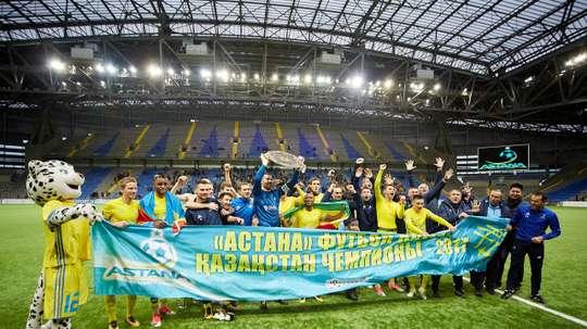 El Astana se ha vuelto a proclamar campeón de Kazajistán. FCA