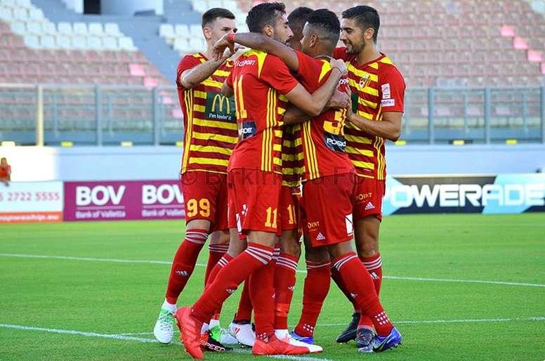 Capel marcó ante el Gzira United. BirkirkaraFC