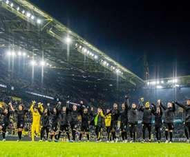 El Borussia goleó al Fortuna. Twitter/BVB