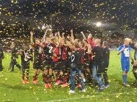 El Honvéd ganó la Liga Húngara tras ganar al Videoton en la última jornada. FaceBook/HonvedFC