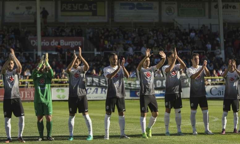 El Ayuntamiento pretende reformar el estadio de El Plantío. BurgosCF/RománCasado