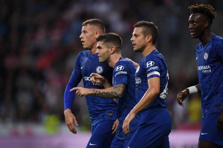 Salzburg 3-5 Chelsea: Pulisic stars as Pedro scores a stunner. Twitter/ChelseaFC