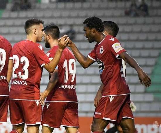 El Dépor ganó por un solitario gol a cero. RCDeportivo
