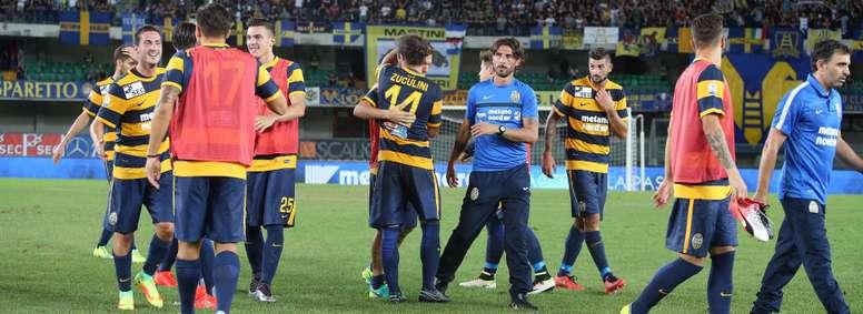 El Hellas sigue vivo en la Coppa, tras imponerse al Avellino. HellasVerona